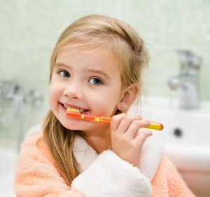Brushing Teeth - Pediatric Dentist in Fargo, ND