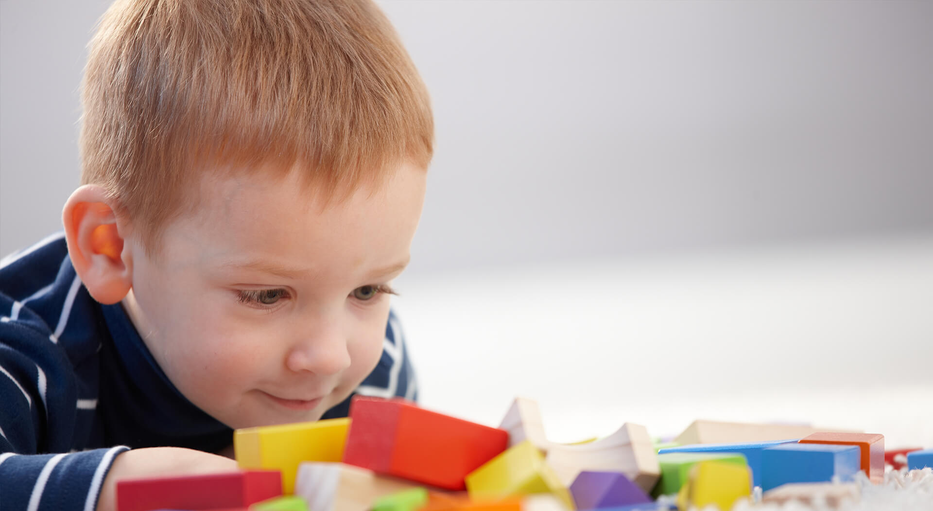 Child playing blocks - Pediatric Dentist in Fargo, ND